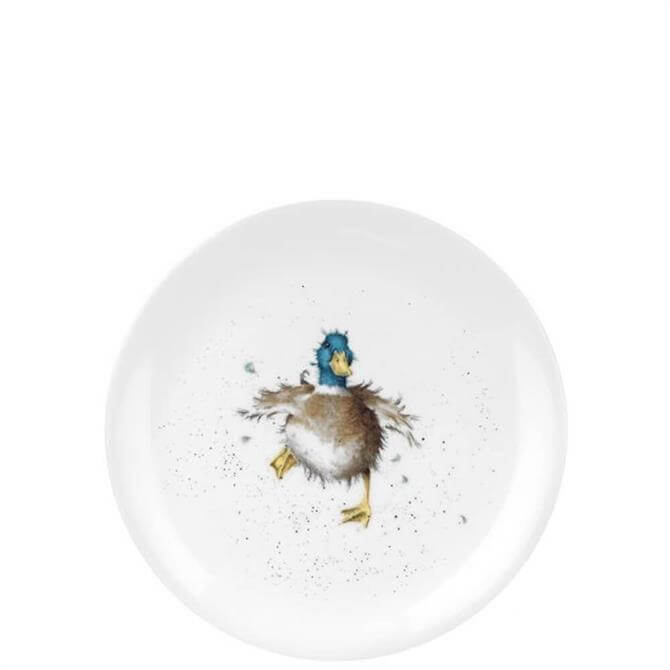 Royal Worcester Wrendale Duck Coupe Plate 20cm