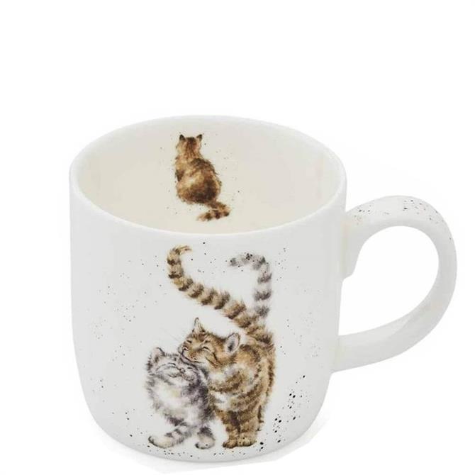 Royal Worchester Wrendale Feline Good Cat Mug