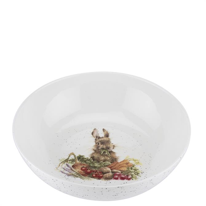 Royal Worcester Wrendale Rabbit Salad Bowl