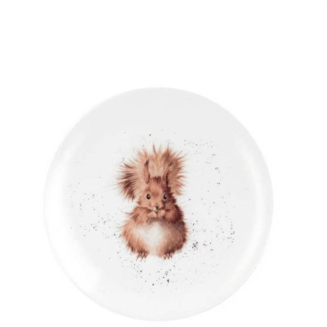 Royal Worcester Wrendale Squirrel Coupe Plate 20cm