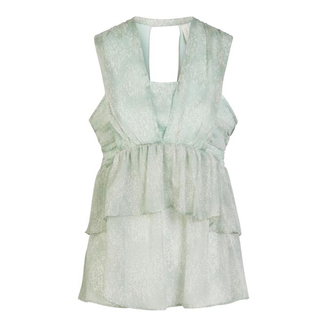 Y.A.S Alice Layered Printed Sleeveless Top
