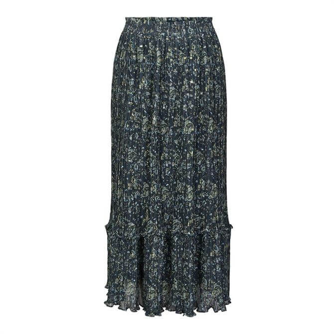 Y.A.S Blooma Printed Ankle Length Skirt