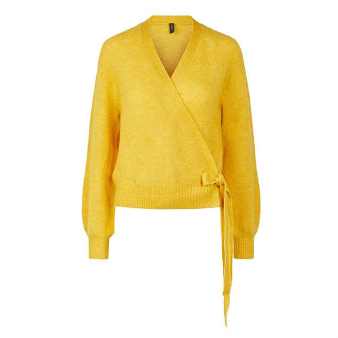 Y.A.S Isabel Wrap Front Cardigan