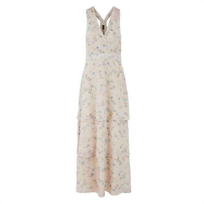 Y.A.S Riga Floral Print Layered Maxi Dress