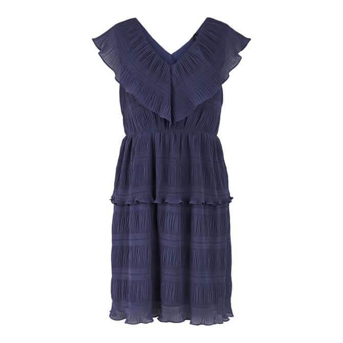 Y.A.S Sydney Layered Deep V-Neckline Dress
