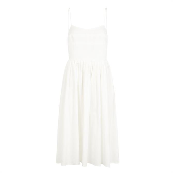 Y.A.S Terra Cotton Midi Strap Dress