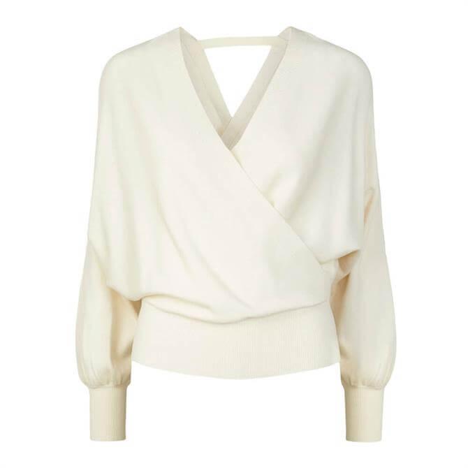 Y.A.S Luna Cross-Over Sweater