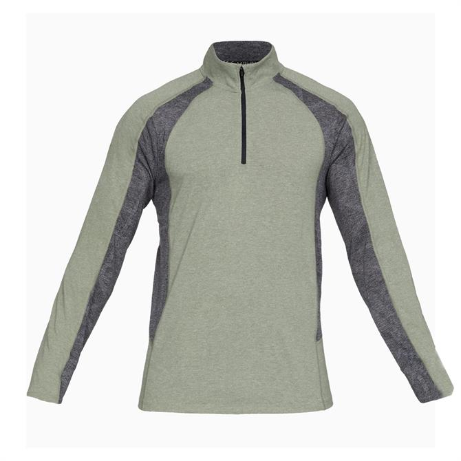 Under Armour Men's Swyft Long Sleeve Running Top- Grove Green