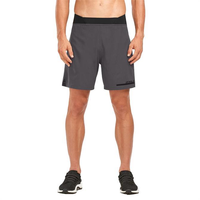 2XU Men's 2 in 1 Compression Running Shorts
