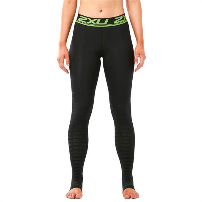 2XU Women's Power Recovery Compression Tights- Black