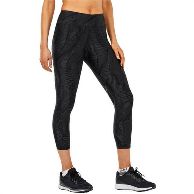 2XU Women's Mid-Rise Print 7/8 Compression Tight
