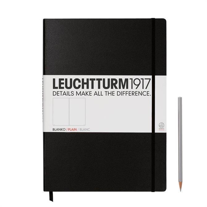 Leuchtturm A4+ Master Classic 233 Plain Pages