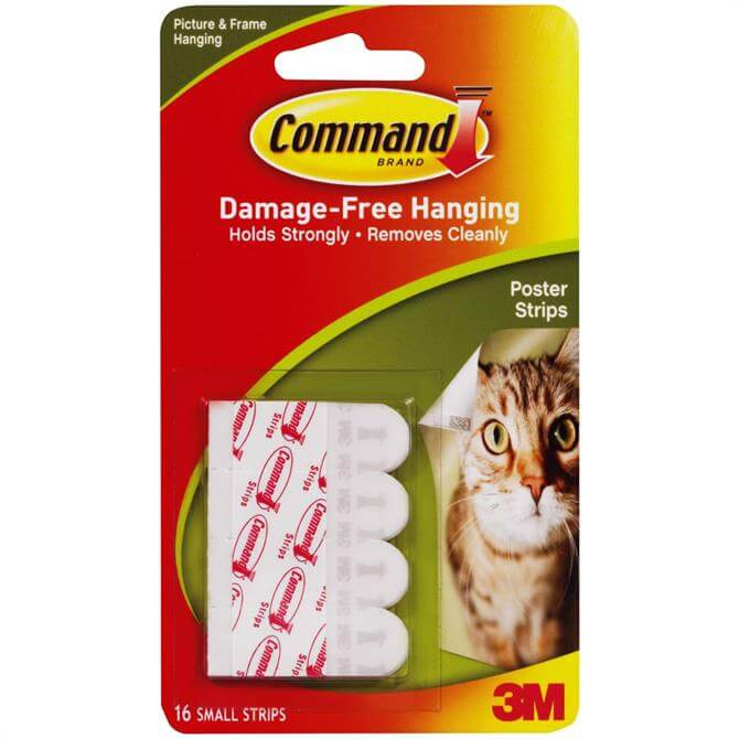 3M Command 12 Small Poster Adhesive Strips