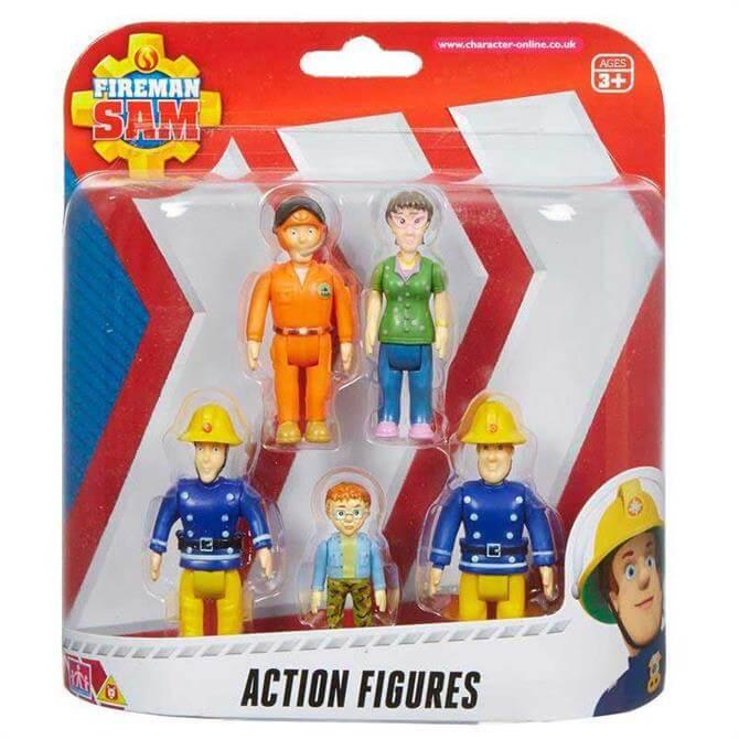 Character Options Fireman Sam Action Figure 5 Pack