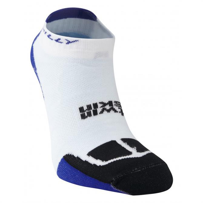 Hilly Twin Skin Socklet - White Blue