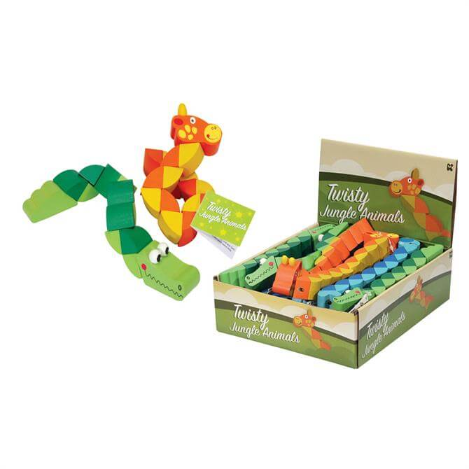 Keycraft Twisty Jungle Animals