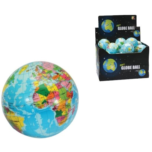 An image of Keycraft Globe Sponge Ball