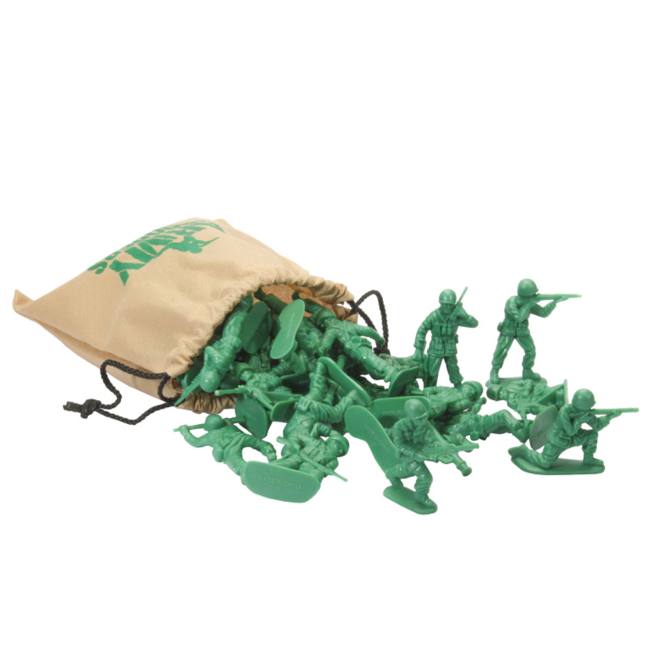 An image of Keycraft Bag of Army Soldiers