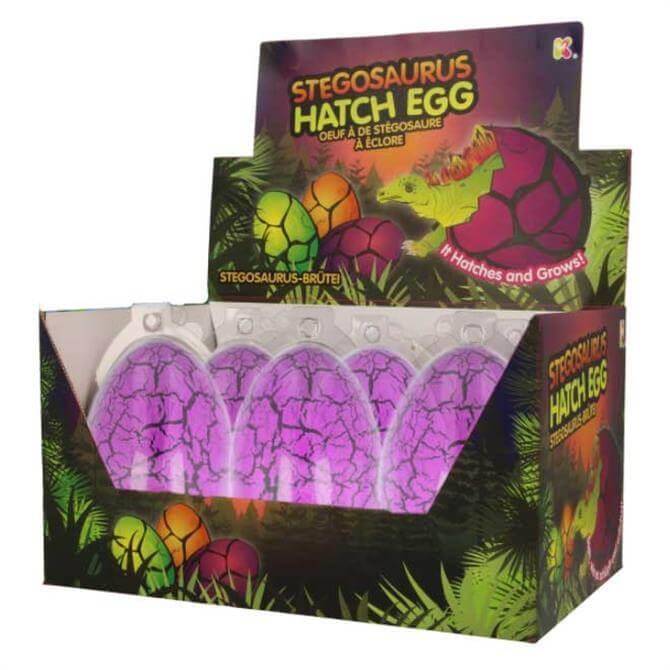 Keycraft Large Stegosaurus Hatching Egg