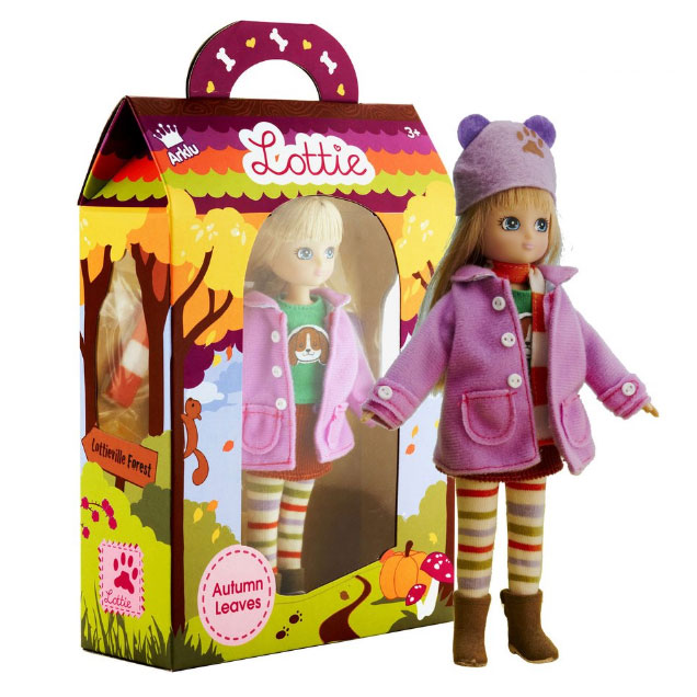 An image of Lottie Autumn Leaves Doll