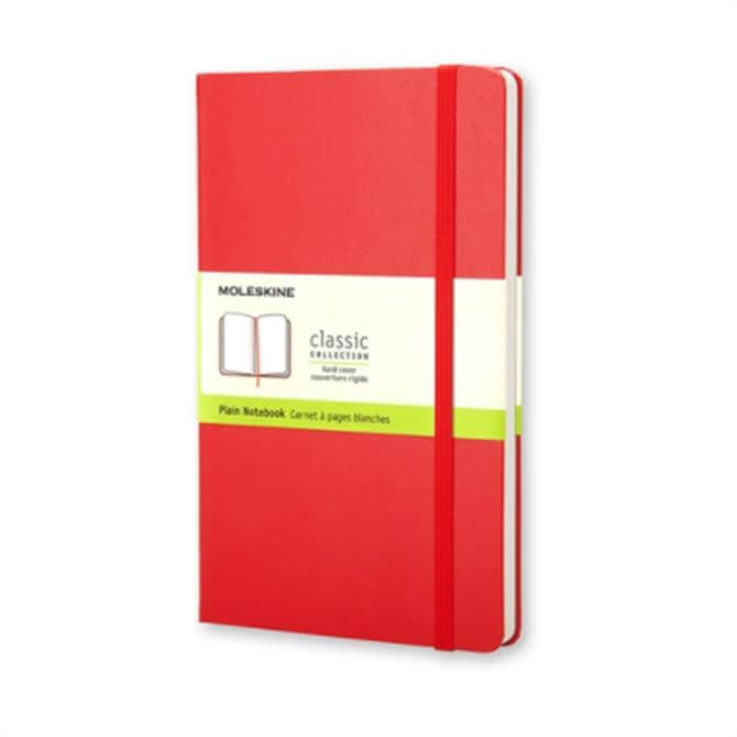 Moleskine Large Plain Hardcover Notebook
