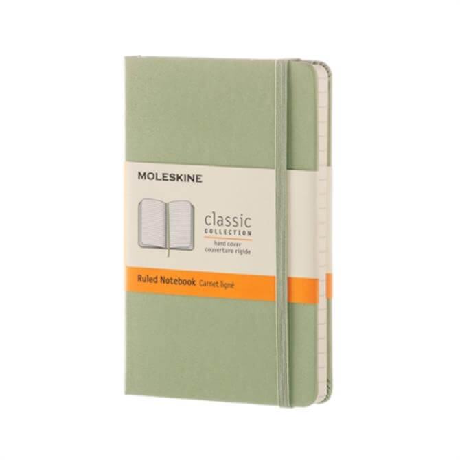 Moleskine Pocket Ruled Hardcover Notebook