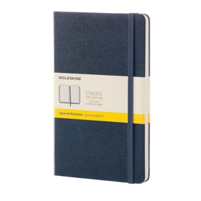 Moleskine Large Squared Hardcover Notebook