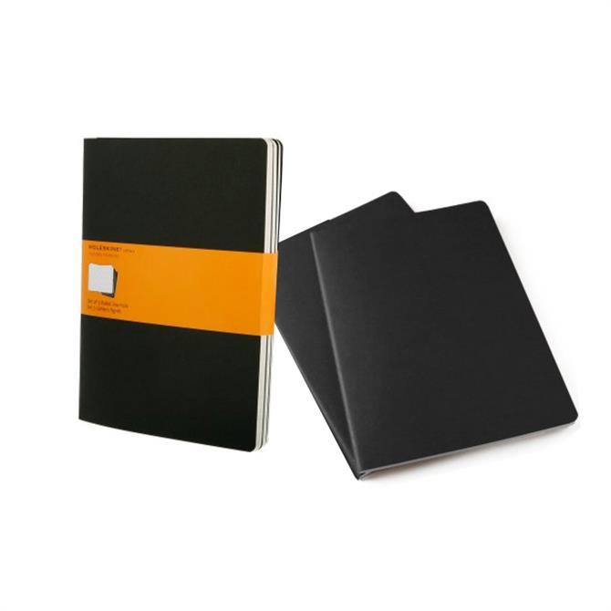 Moleskine Ruled Cahier Journal Extra Large Set of 3
