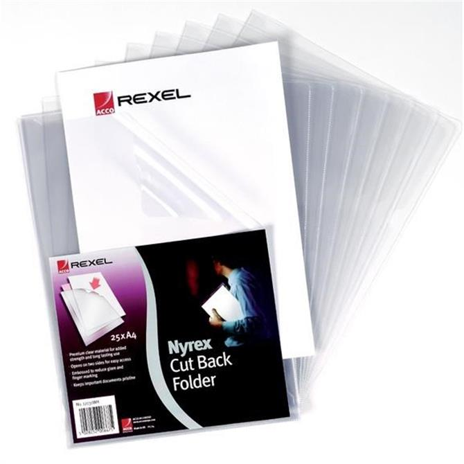 Rexel Cut Back Folder A4