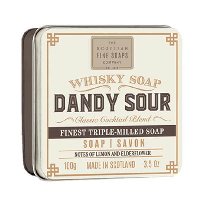 Scottish Fine Soaps Whisky Cocktail Dandy Sour Luxury Soap