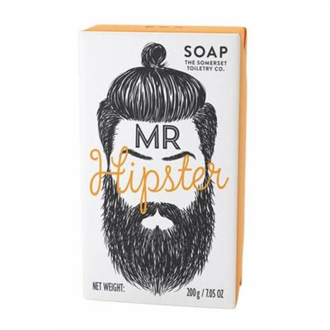 Somerset Toiletry Co Mr Beard Men's Soap - Mr Hipster