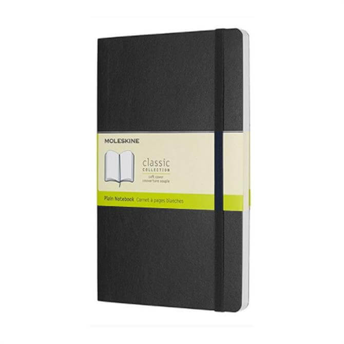 Moleskine Large Plain Softcover Notebook