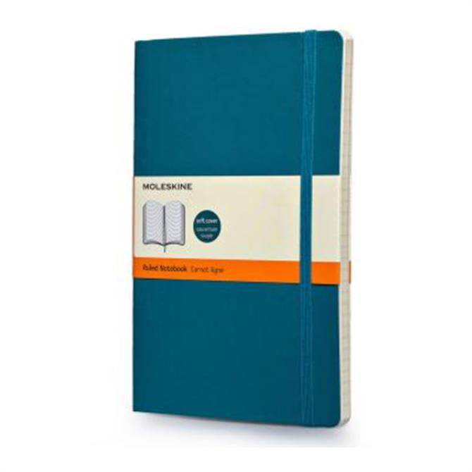 Moleskine Large Ruled Softcover Notebook