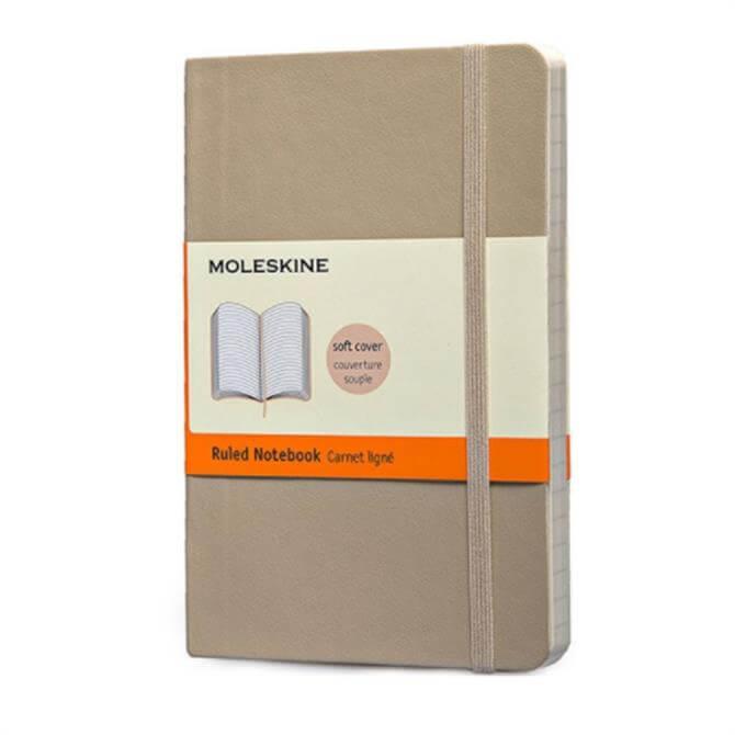 Moleskine Pocket Ruled Softcover Notebook