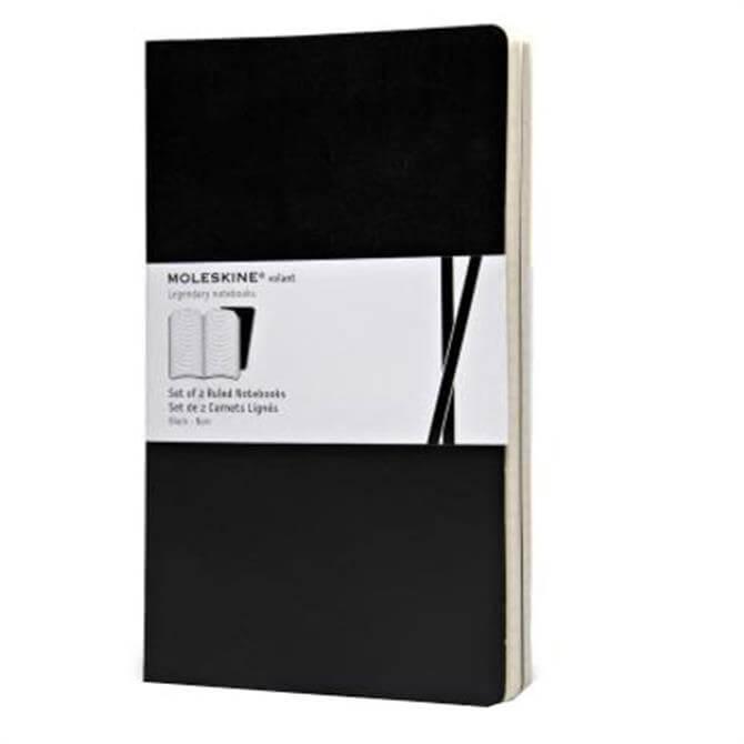 Moleskine Volant Large Ruled Notebooks - Set of 2