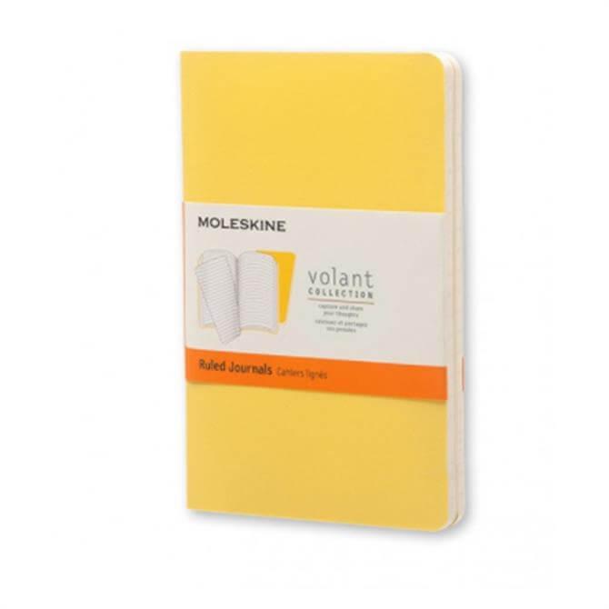 Moleskine Volant Ruled Pocket Journals - Set of 2