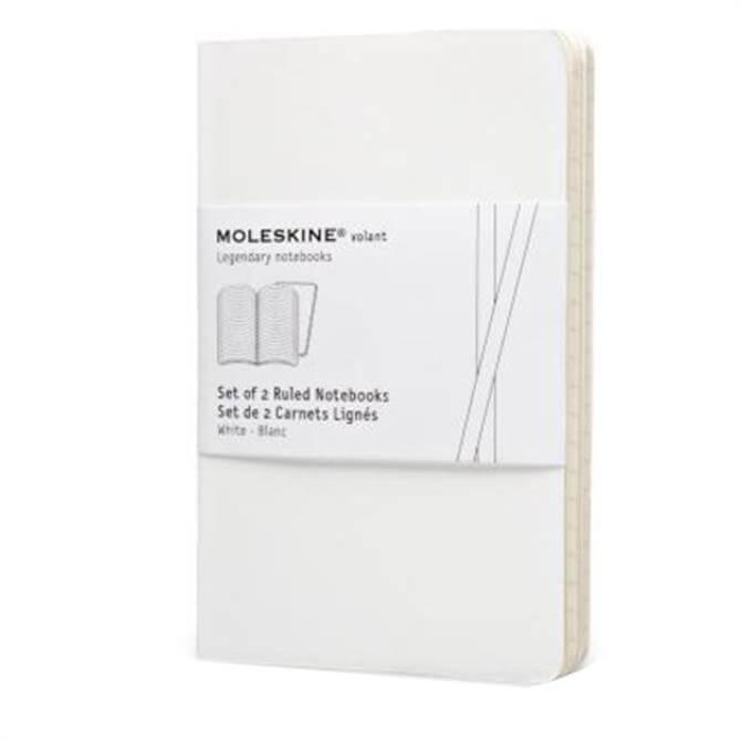 Moleskine Volant Pocket Ruled Notebooks - Set of 2