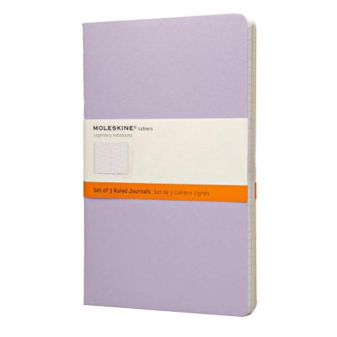 Moleskine Ruled Cahier Journal Large - Set of 3