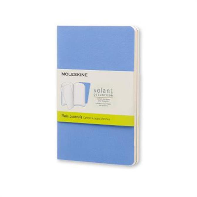 Moleskine Volant Plain Pocket Journals - Set of 2
