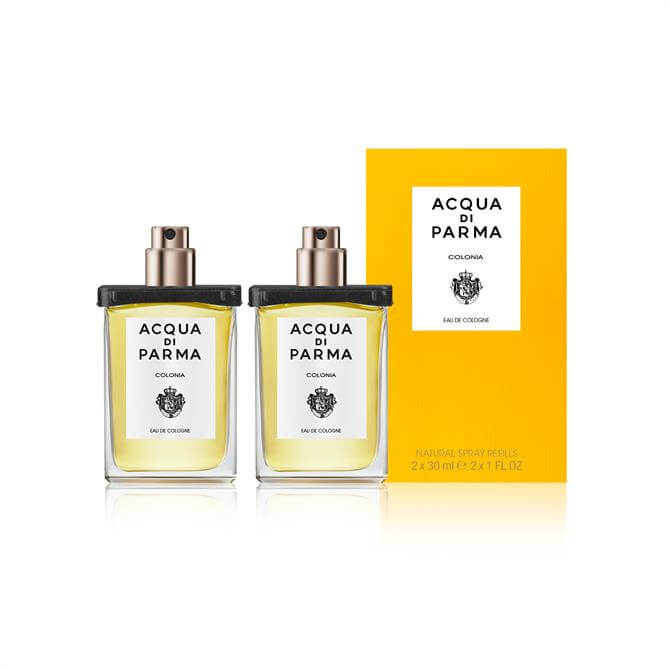Acqua di Parma Travel Spray Refill Eau de Cologne 2x30ml