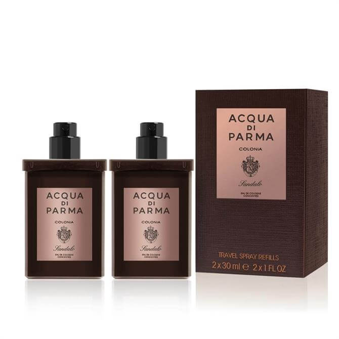 Acqua di Parma Colonia Sandalo Travel Spray Refill 2 x 30ml