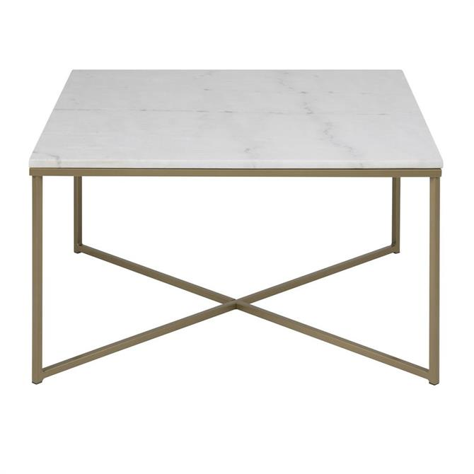 Alicia Marble Top Coffee Table