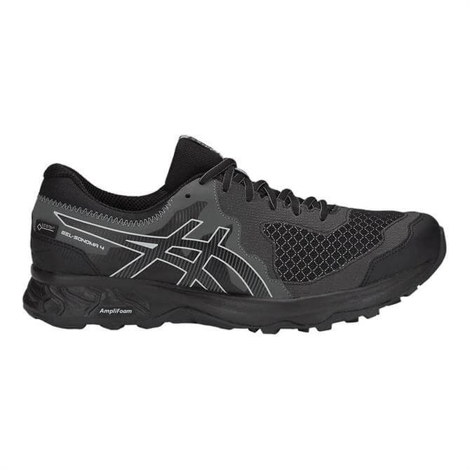 Asics Men's GEL-Sonoma 4 G-TX Trail Running Shoe- Black