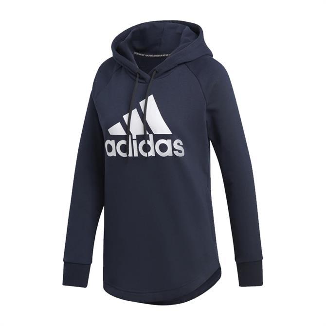Adidas Women's Must Haves Badge of Sport Hoodie - Legend Ink