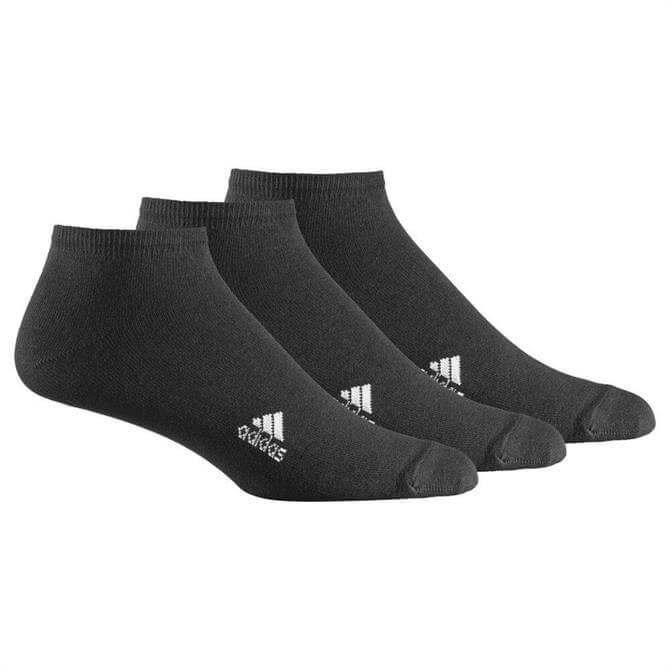 Adidas 3 Pair Pack Liner Plain T Sock