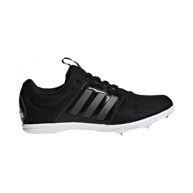 Adidas Junior AllRound Star Spike Track Running Shoes - Black