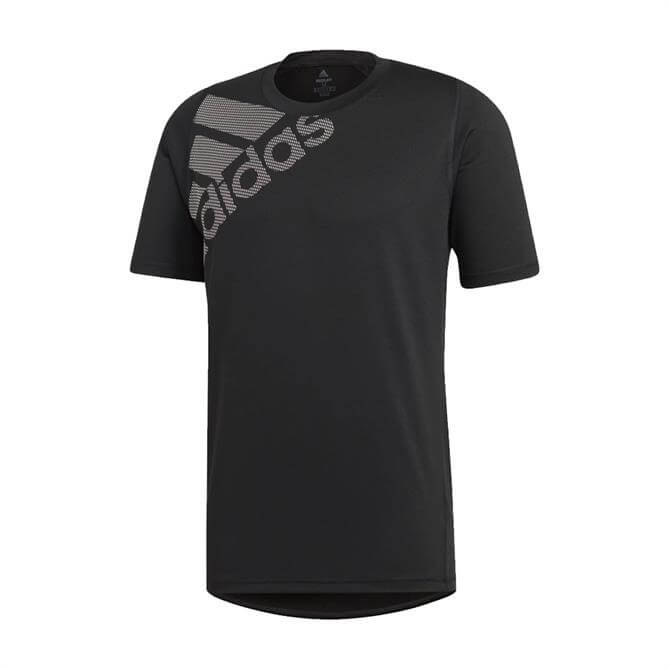 Adidas Men's Freelift Badge of Sport T-Shirt - Black