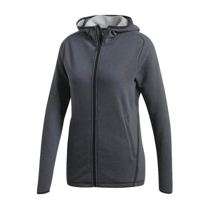 Adidas Women's Freelift Light Hoodie - Carbon Black
