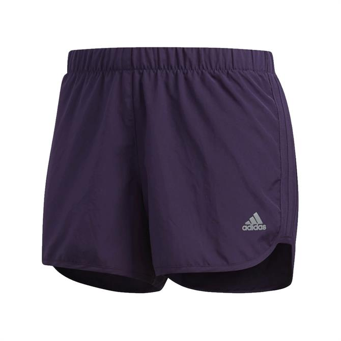Adidas Women's Marathon 20 AKTIV Against Cancer Shorts - Legend Purple