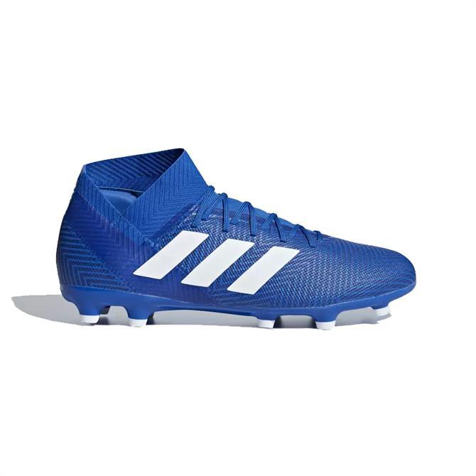 Adidas Men's Nemeziz 18.3 Firm Ground Football Boots- Football Blue